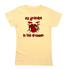 drums_mygrandpaisthedrummer.png Girl's Tee