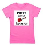 pottylikearockstar.png Girl's Tee