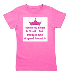 smallfinger_daddy_crown.jpg Girl's Tee