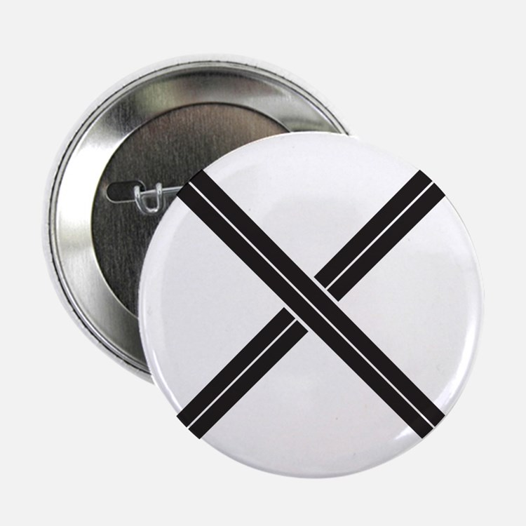 "Crossed Swords 2.25"" Button"