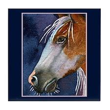 THE BEAUTIFUL HORSE Tile Coaster