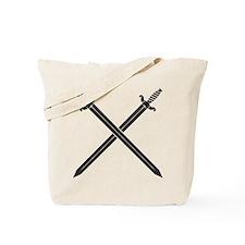 Crossed Swords Tote Bag