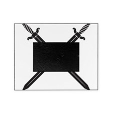 Crossed Swords Picture Frame