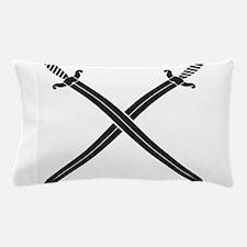 Crossed Swords Pillow Case
