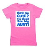 thinkimcute_aunt_blue.png Girl's Tee