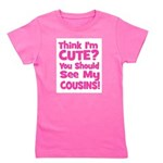 thinkimcute_cousins_pink.png Girl's Tee