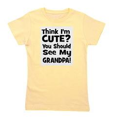 thinkimcute_grandpa_black.png Girl's Tee