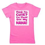 thinkimcute_nana_pink.png Girl's Tee
