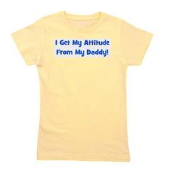 attitudefromdaddy_blue.png Girl's Tee