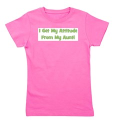 attitudefromaunt_green.png Girl's Tee