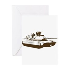 Tank Greeting Cards