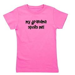 mygrandmaspoilsme_black.png Girl's Tee