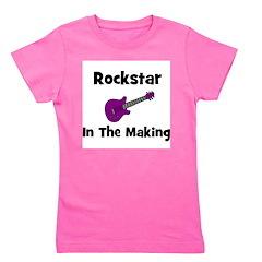 rockstarinthemaking_purple.png Girl's Tee