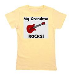 guitar_mygrandmarocks.jpg Girl's Tee