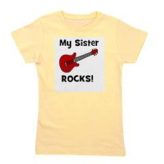 guitar_mysisterrocks.jpg Girl's Tee