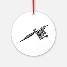 Tattoo Machine Ornament (Round)