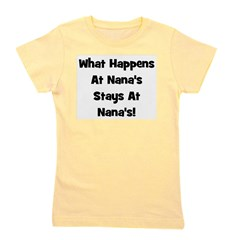 staysatnanas_black.png Girl's Tee