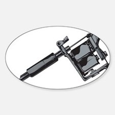 Tattoo Machine Decal