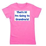 goingtograndmas_blue.png Girl's Tee