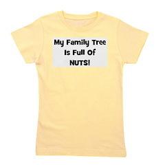 familytreenuts_black.png Girl's Tee