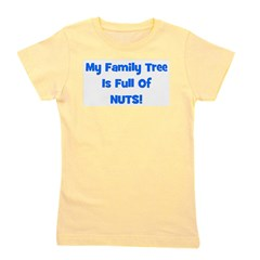 familytreenuts_blue.png Girl's Tee