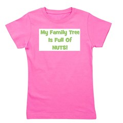 familytreenuts_green.png Girl's Tee