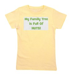familytreenuts_green.png Girl's Tee