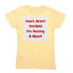 twosarentterrible_red.png Girl's Tee