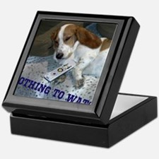 Lazy Dog Keepsake Box