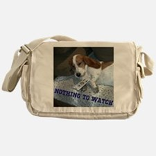 Lazy Dog Messenger Bag