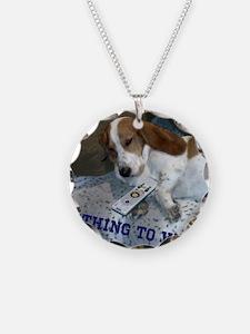 Lazy Dog Necklace