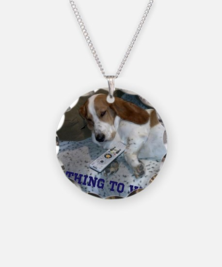 Lazy Dog Necklace