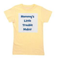 mommyslittletroublemaker_blue.png Girl's Tee