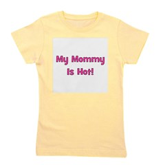 mymommyishot.png Girl's Tee