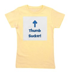 thumbsucker_blue.png Girl's Tee