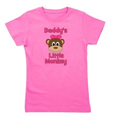 Monky_Girl_daddyslittlemonkey_red.png Girl's Tee