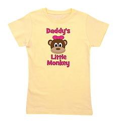 Monky_Girl_daddyslittlemonkey_red.png Girl's Tee