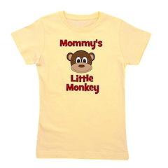 Monky_mommyslittlemonkey_red.png Girl's Tee