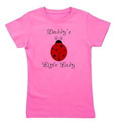 ladybug_daddyslittlelady.png Girl's Tee