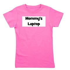 mommyslaptop_black.png Girl's Tee