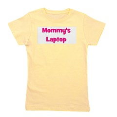 mommyslaptop_pink.png Girl's Tee
