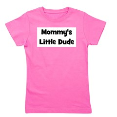 mommyslittledude_black.png Girl's Tee
