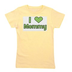 iheartmommy_green.png Girl's Tee