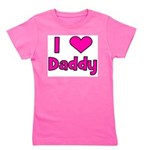 iheartdaddy_pink.png Girl's Tee