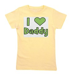 iheartdaddy_green.png Girl's Tee