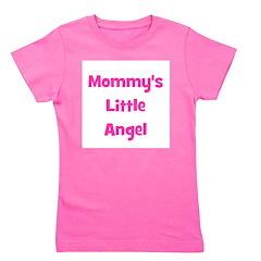 mommyslittleangel_pink.png Girl's Tee