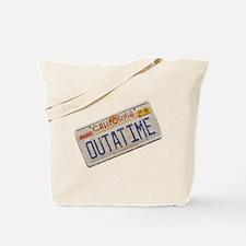 Outatime Back to the Future Tote Bag