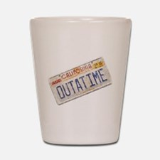 Outatime Back to the Future Shot Glass