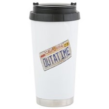 Outatime Back to the Future Travel Mug
