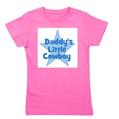 daddyslittlecowboy_blue.png Girl's Tee